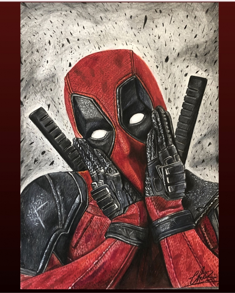 Deadpool por Chrisbradleyart